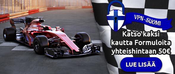 Formula 1 VPN-Suomi